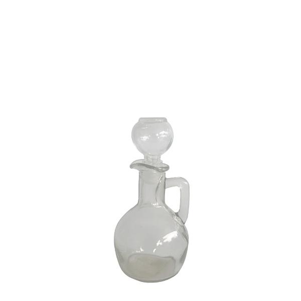 Бутилка за зехтин със стъклен капак Lux