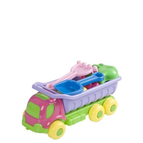 Камионче с фигурки за пясък- Summer
