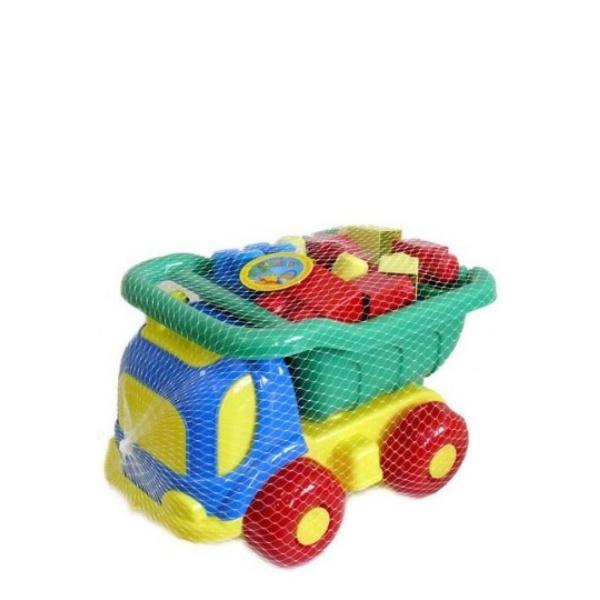 Камионче с конструктор