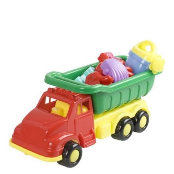 Камионче с фигурки за пясък