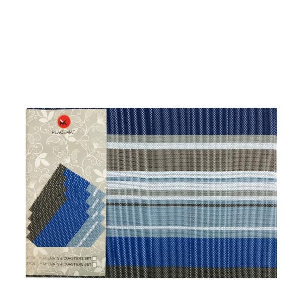 Комплект подложки за студено сервиране 8 части- Престиж