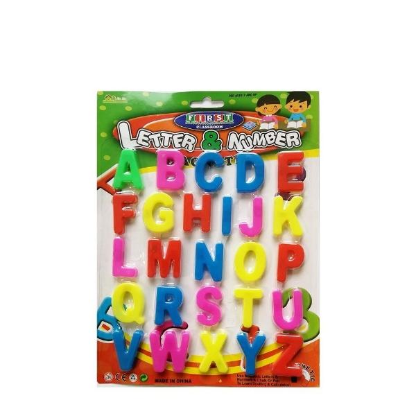 Магнитни букви латиница