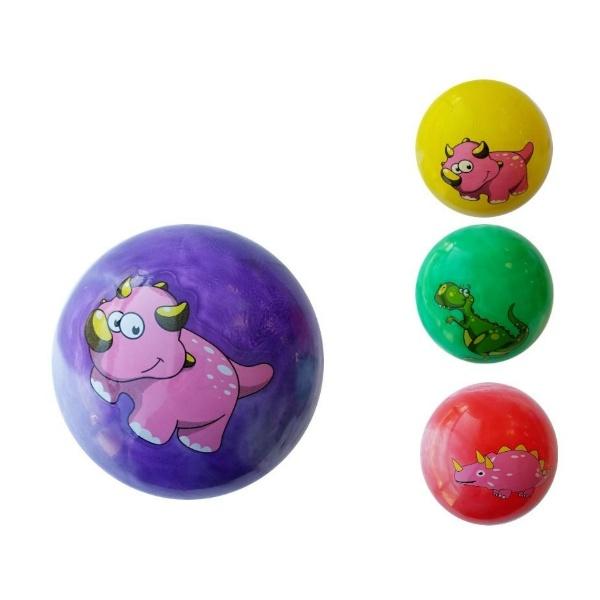 Малка гумена топка с преливащи цветове