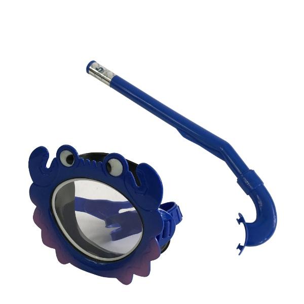 Детски комплект шнорхел с маска раче