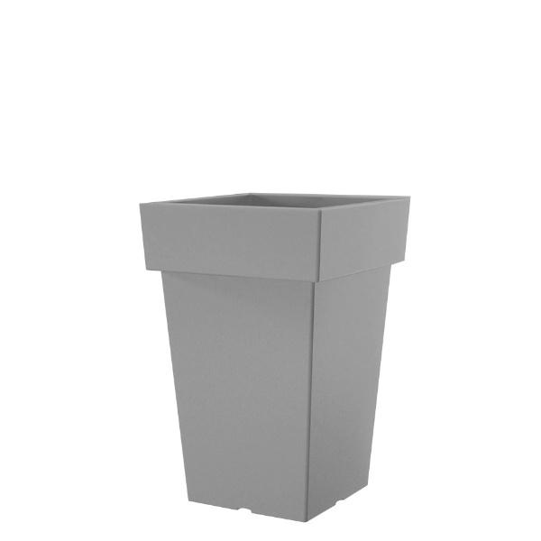 Саксия LOFLY 23,4 см Х 23,4 см сива