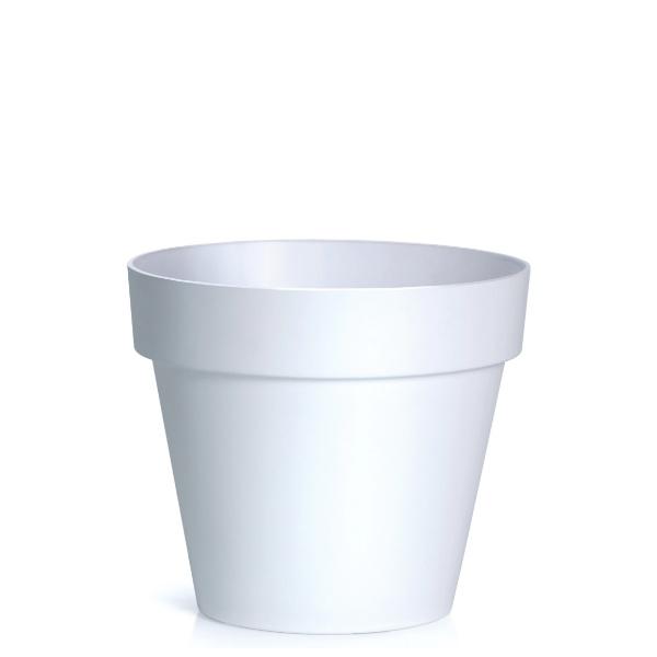 Саксия CUBE Ф20 бяла