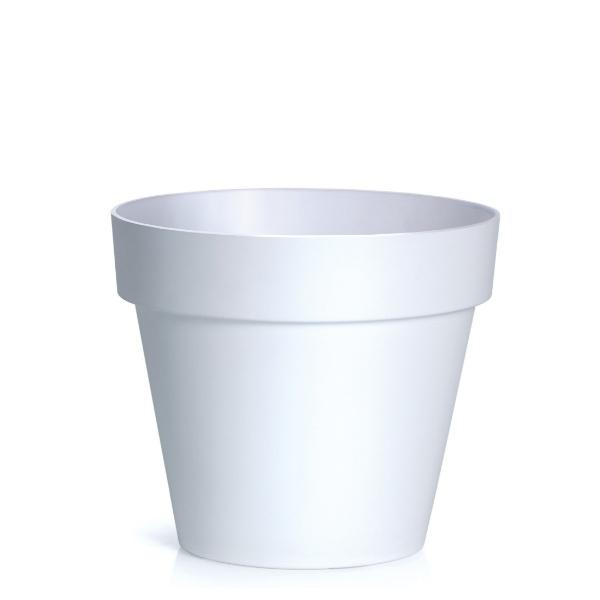 Саксия CUBE Ф30 бяла