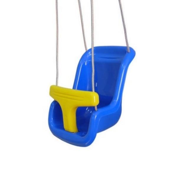 Пластмасова детска люлка с ограничител- Kidss