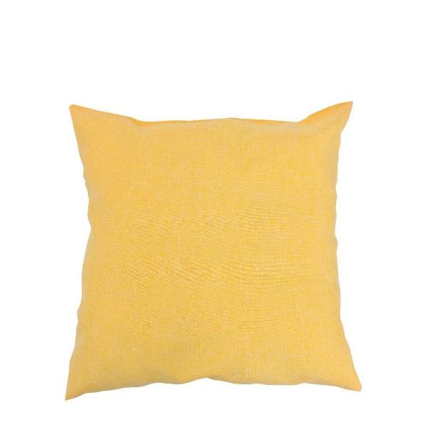 Декоративна възглавница ТРИНИТИ жълта