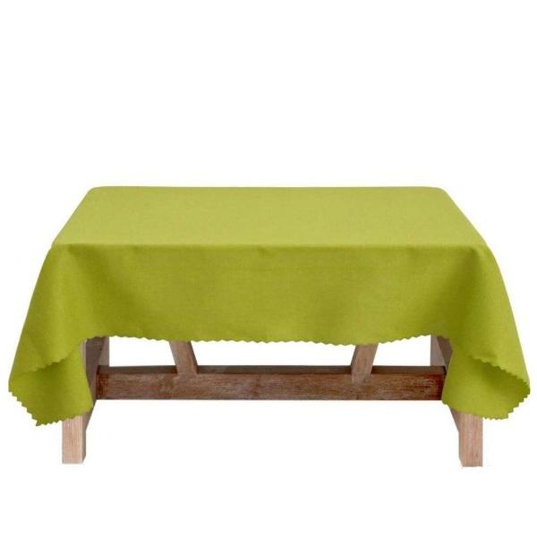 Покривка за маса ТРИНИТИ 120/150 см зелена