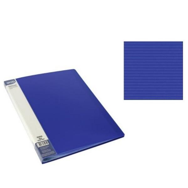 Папка с 10 джоба А4 синя