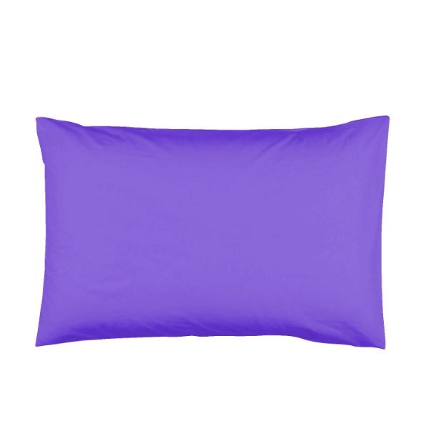Памучна калъфка за възглавница - лилава