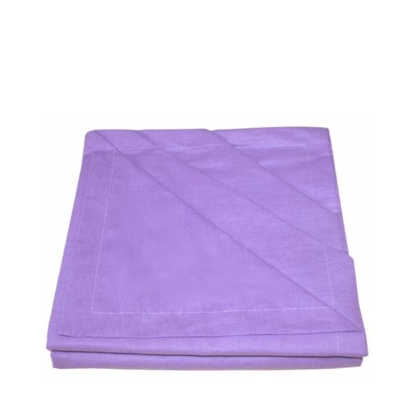 Чаршаф спалня + 2 калъфки лилави
