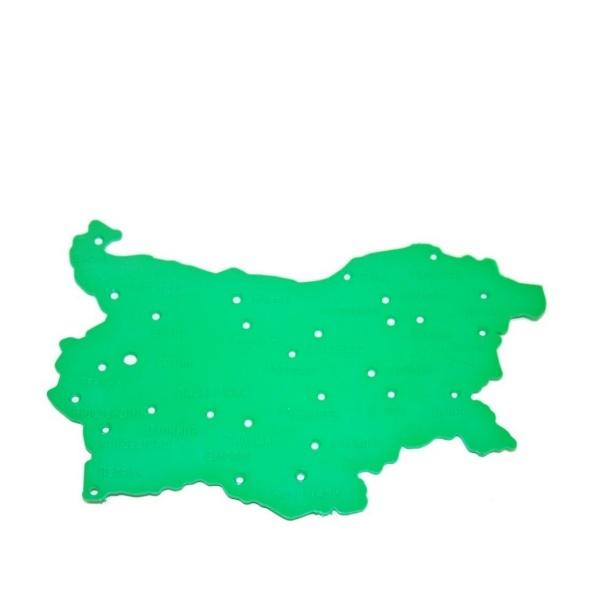 Мини шаблон карта на България