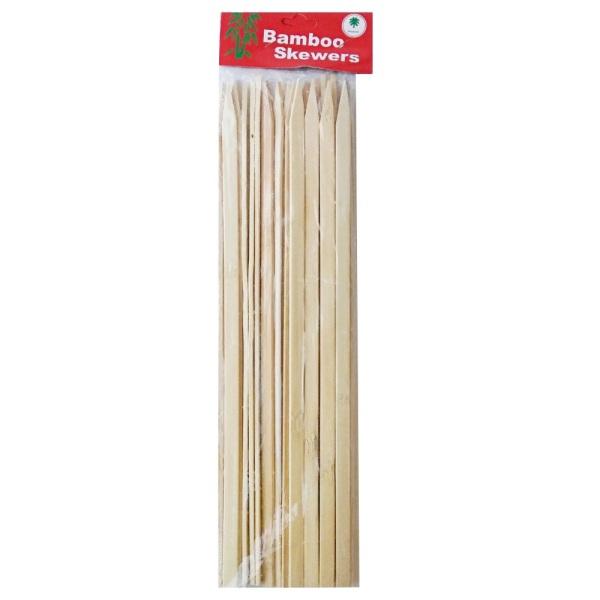 Бамбукови плоски шишчета