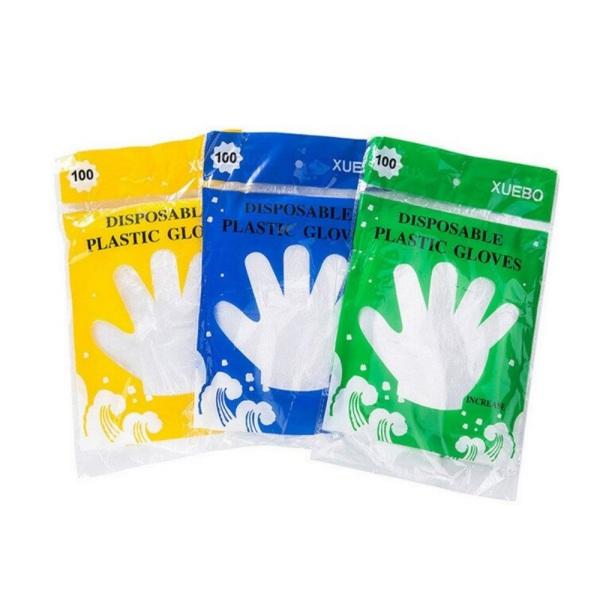 Домакински ръкавици - 100 броя