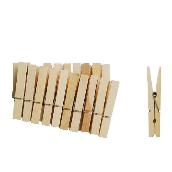 Дървени щипки 7,5 см