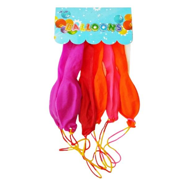 Балони с ластик 5 броя