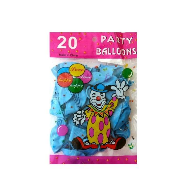Балони едноцветни 20 броя