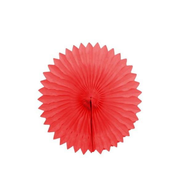 Парти украса хартиен кръг райе 25 см