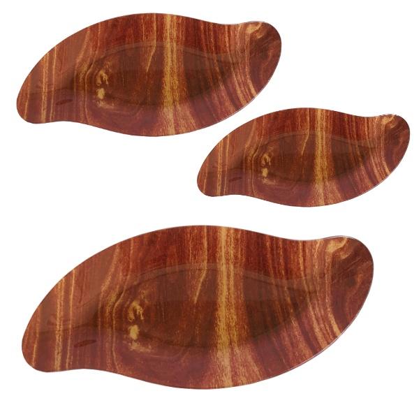 Купа стъкло 3 броя - Wood