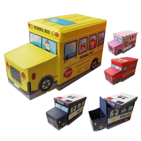 Детска сгъваема табуретка - Камион