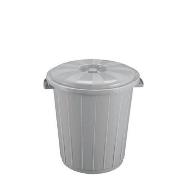 Кош с капак от вторична пластмаса 15 литра