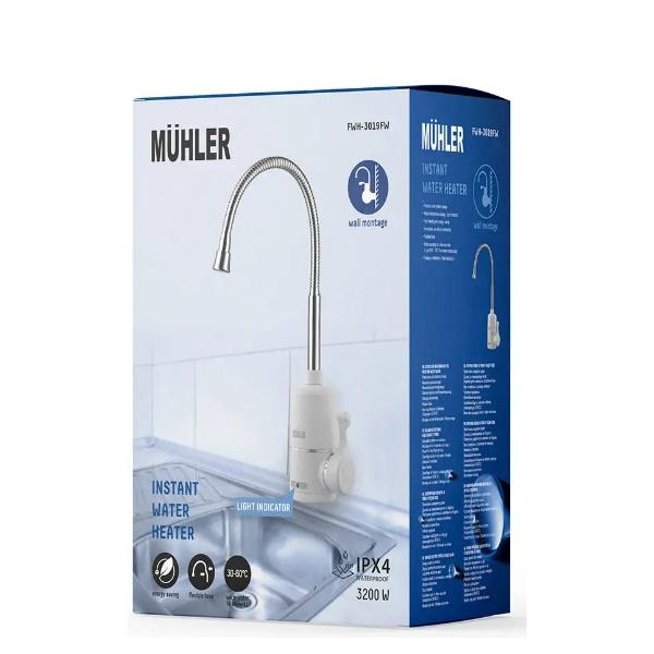 Електрически водонагревател MUHLER FWH-3019FW