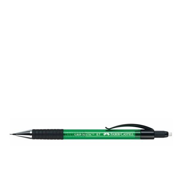Автоматичен молив с гума FАвтоматичен молив с гума FABER CASTELL GRIP MATIC