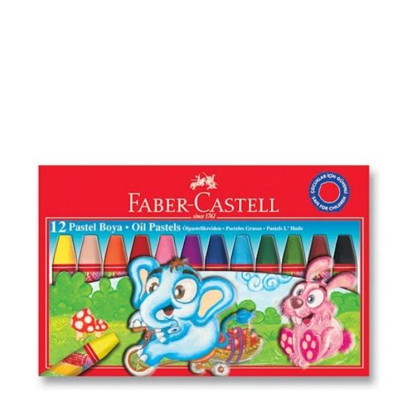 Faber-Castell Маслени пастели 12