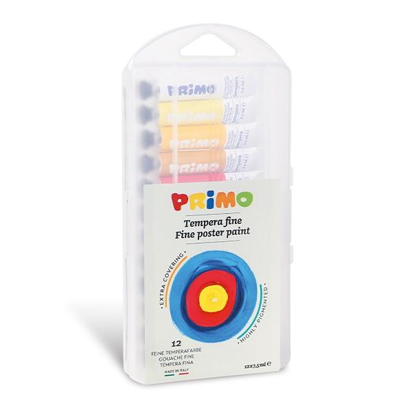 Темперни бои 12 цвята - Примо
