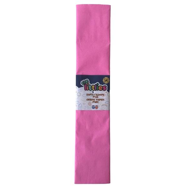 Креп хартия- Розова