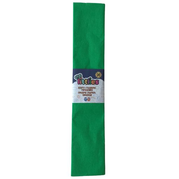 Креп хартия- Зелена