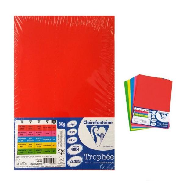 Копирна цветна хартия- Неон