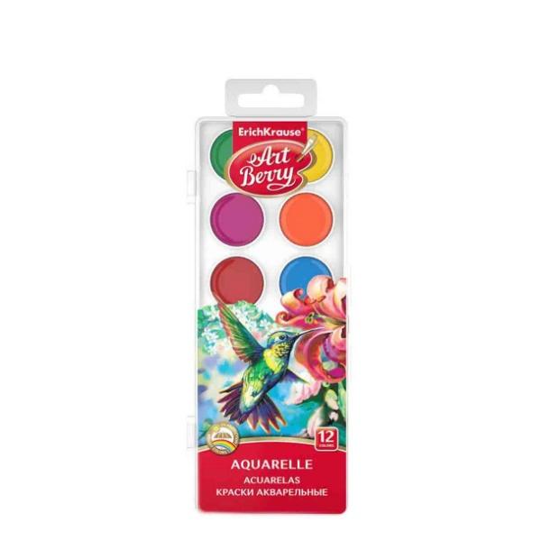 Водни бои 12 цвята - Art Berry