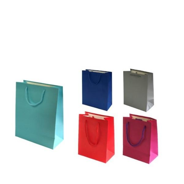 Едноцветна торбичка мат