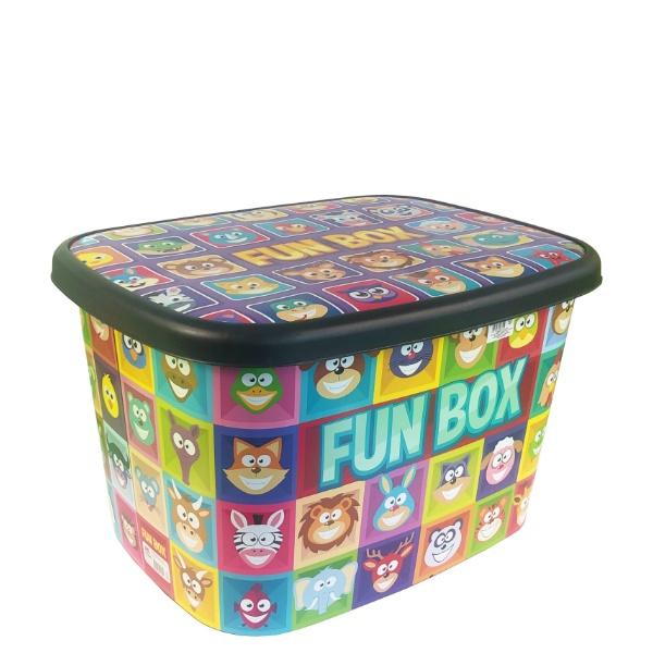 Контейнер декор 50 литра – Fun Box