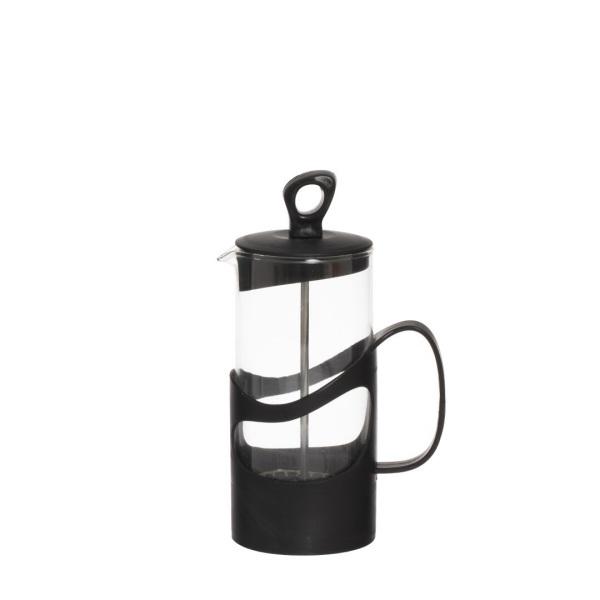 Преса за чай и кафе 400 мл - Черна