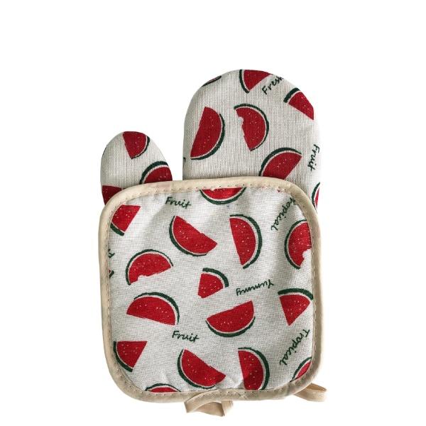 Комплект ръкавица с ръкохватка - Крафт