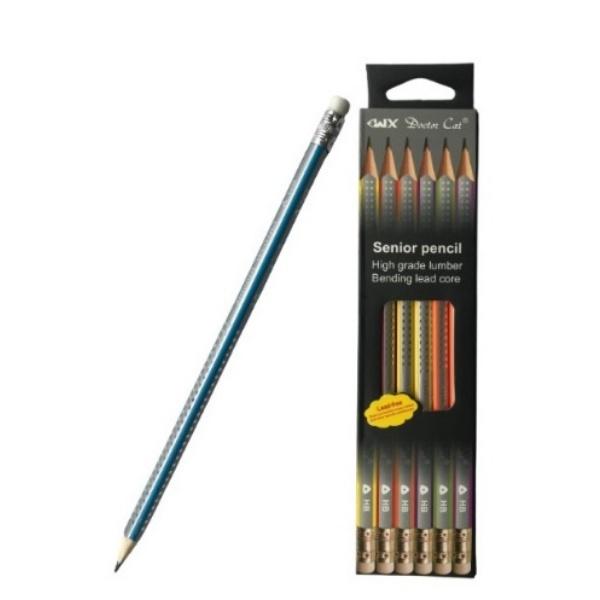 Комплект графитни моливи - 12 части