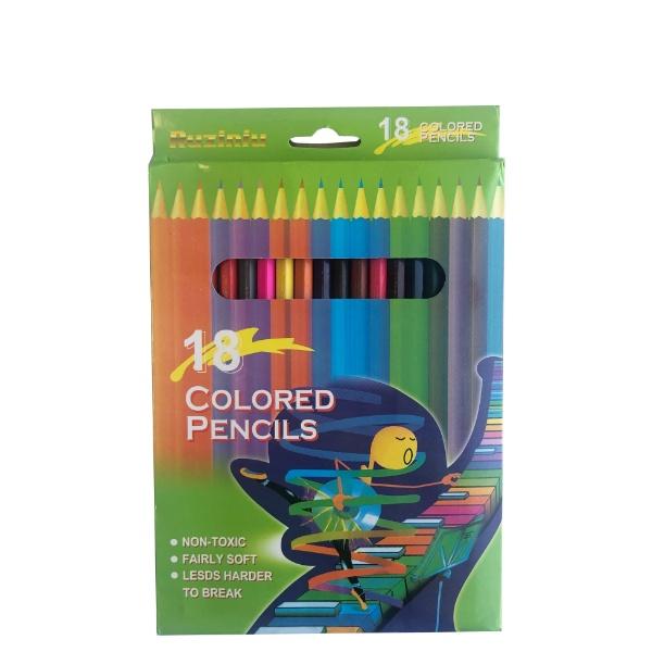 Цветни моливи - 18 цвята