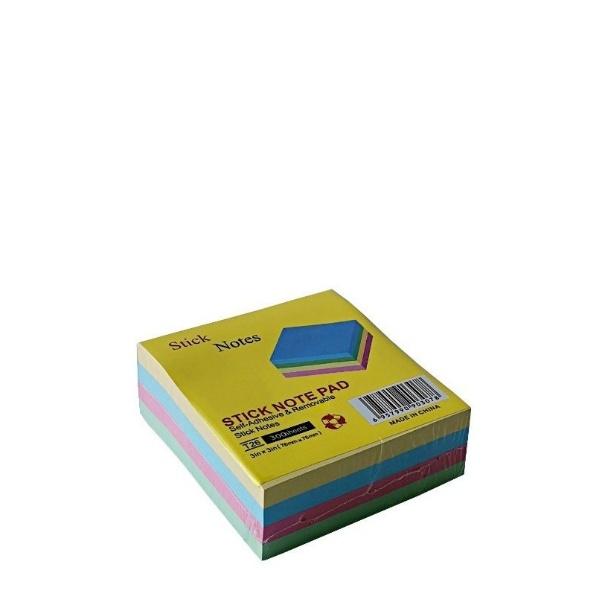 Лепящи листчета пастел - 300 броя