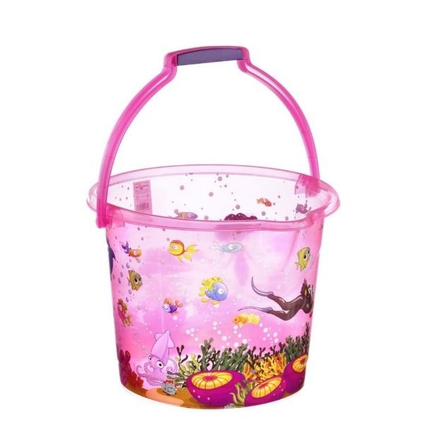 Кофа 12 литра – Рибки Розово