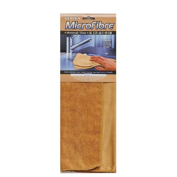 Двустранна микрофибърна кърпа 40x40