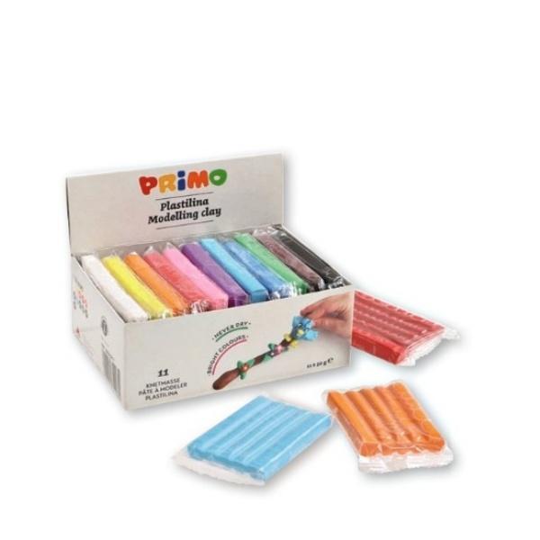 Пластилин 11 цвята - Примо