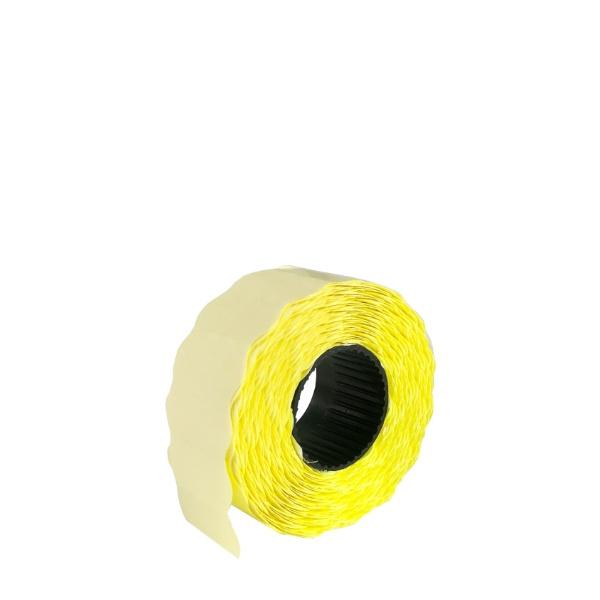 Етикети за едноредови маркиращи клещи - Жълти