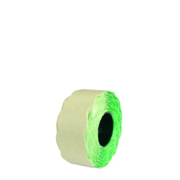 Етикети за двуредови маркиращи клещи 26/16 мм - Зелени