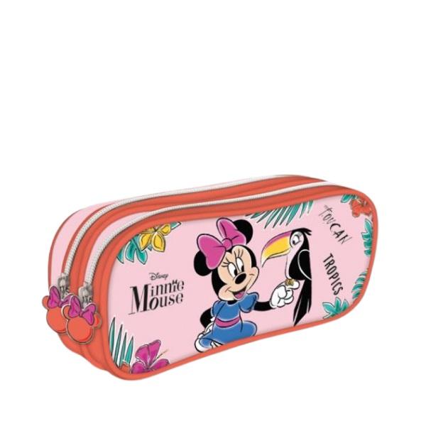 Текстилен несесер с два ципа - Minnie