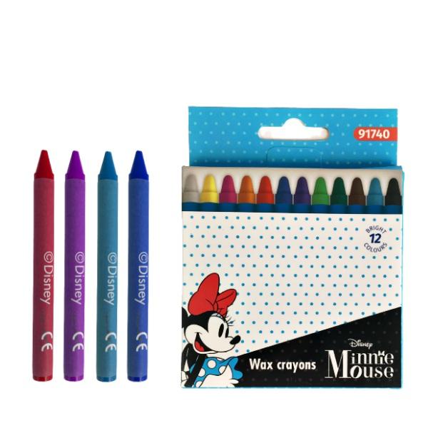 Восъчни пастели 12 броя - Minnie
