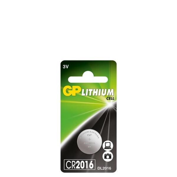 Литиева бутона батерия 3V - GP-BL-CR-2016-1PK